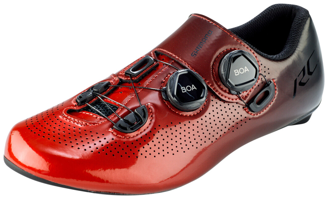 Shimano SH-RC7 Bike Shoes Wide Men red
